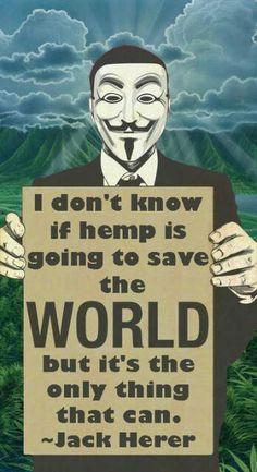 Hemp will save the World
