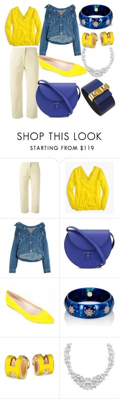 """what I'd wear"" by liz-ouellette ❤ liked on Polyvore featuring FABIANA FILIPPI, J.Crew, Balenciaga, PB 0110, Summit by White Mountain, Mark Davis, Henri Bendel and Hermès"