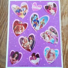 Barbie Stickers Vintage 1996 by DirtyPopAccessories on Etsy