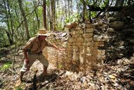 Archaeologist Ivan Sprajc led an international team of experts to study the just discovered Mayan site.