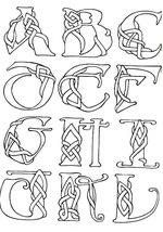 druid pattern | Free Printable Irish and Celtic Symbols Collection ...
