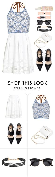 """""""Low Tide"""" by luckystrawberry ❤ liked on Polyvore featuring Superdry, River Island and Humble Chic"""