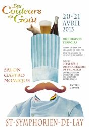 Salon gastronomique les Couleurs du Goût, Saint-Symphorien-de-Lay, Rhône-Alpes