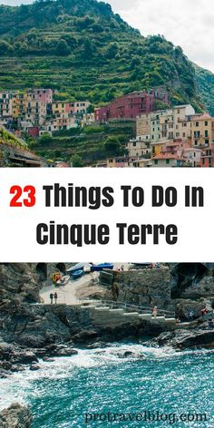 Here's my list of can't miss things to do in Cinque Terre, Italy. It's the best bucket list items to tick off in Cinque Terre!