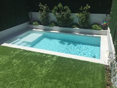 Backyard Pool Designs, Small Backyard Patio, Swimming Pools Backyard, Pool Spa, Swimming Pool Designs, Outdoor Pool, Backyard Landscaping, Backyard Ideas, Pool Garden