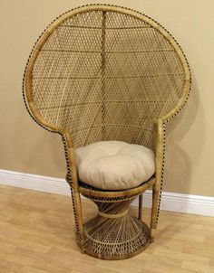 21 Best wicker chair decoration ideas images | Baby shower ...
