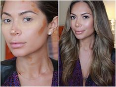 Marianna Hewitt shows you a perfect highlight and contour tutorial that looks natural but is defined enough for evenings and special events.