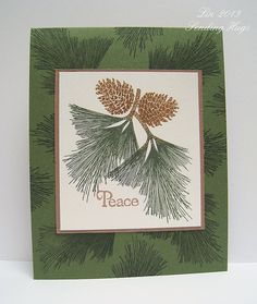 SSS Oct 9, Use a Stamp from Clearly Besotted - Autumn Flowers. Set includes beautiful maple leaves, too.