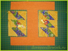 How to sew patchwork pencil case. Tutorial DIY