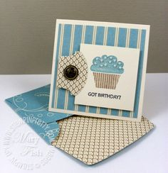 Cute Little Birthday Card by Stampin Up