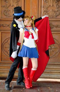 Sailor Moon Tuxedo Mask Cosplay