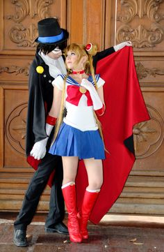 Sailor Moon Tuxedo Mask Cosplay