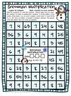 Multiplication Board Games: 28 Multiplication Games for ...