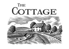 The Cottage Westport Logo Illustrated by Steven Noble on Behance