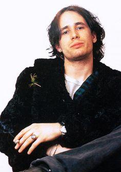 """Jeff Buckley photographed ca. 1995. """