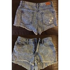 High rise BDG denim shorts Urban Outfitters High waisted denim short-shorts from Urban Outfitters. Size 28. Perfect condition. Worn only a couple of times. Urban Outfitters Shorts Jean Shorts