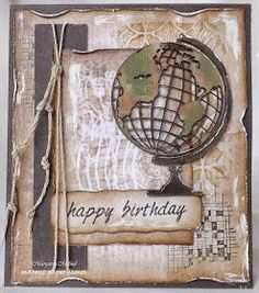 Margyz Paper Games: Feeling Sketchy - and Simon Says Stamps - It's a Guy Thing! by cassandra Masculine Birthday Cards, Birthday Cards For Men, Handmade Birthday Cards, Masculine Cards, Fathers Day Cards Handmade, Paper Games, Boy Cards, Travel Cards, Marianne Design