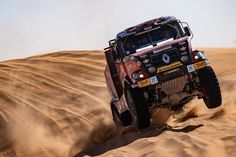 Gert Huzink verrast in negende etappe Rally Raid, Ideas Para, Monster Trucks, Track, Racing, Bike, Cars, Vehicles, Trucks
