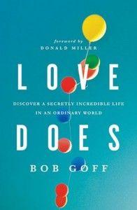 Favorite Book I've read so far in 2012. Love Does.