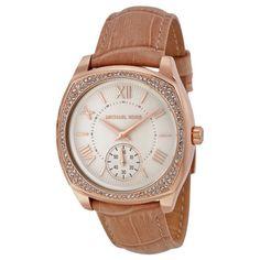 Michael-Kors-Bryn-White-Dial-Nude-Leather-Ladies-Dress-Watch-MK2388