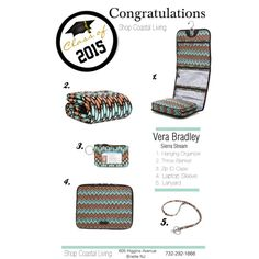 Vera Bradley Graduation Gifts Sierra Stream!