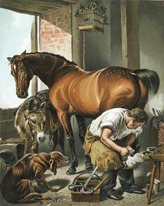 Le Fer à cheval en songe, un porte-bonheur ? - ©Sir Edwin Landseer - 1802-1873