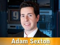 Adam Sexton, news reporter. Click on picture to view bio.