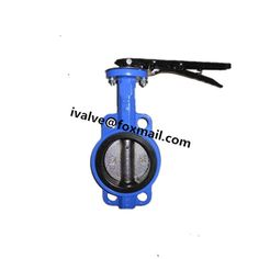 Cast Iron Butterfly Valves With Stainless Steel Disc And Trim