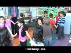 """Five Minutes of Kindergarten Fun! - YouTube.  One of the songs is the """"All"""" song, which is sung to the tune of Ring Around the Rosy.  The kids LOVE It!"""