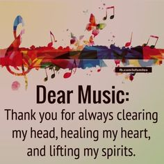This is so true for me because I& a person wh. This is so true for me because I& a person who worries a lot and music always clears my head Music Quotes Deep, Lyric Quotes, Funny Quotes, Life Quotes, Quotes About Music, Quotes Quotes, Sassy Quotes, I Love Music, Music Is Life