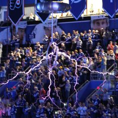 Tampa Bay Lightning, inside.. god i miss this place.