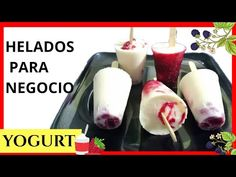 Yogurt Ice Cream, Ice Pops, Homemade Ice Cream, Eating Plans, Deli, Bakery, Tasty, Sweets, Ethnic Recipes
