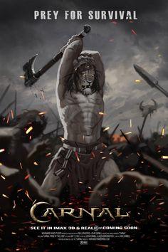 Lion ax movie poster by nightrhino on deviantART