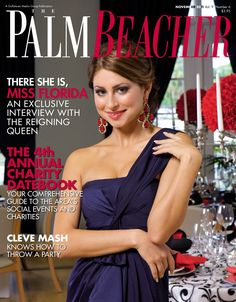 Palm Beacher Magazine, November 2011