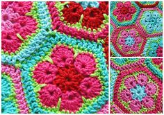 love the colors, like the pattern  Wonder if mom could crochet this?