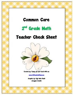 This packet includes all of the Common Core Standards for Second Grade Math. It is organized in a way that the teacher, or parent, can keep track o...