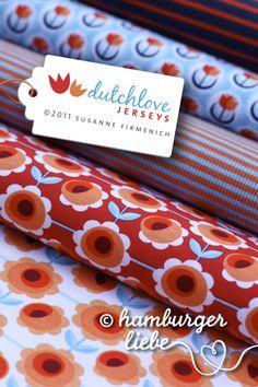 Hamburger Liebe - Dutchlove Jersey - blau rot