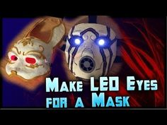 How to Make LED Eyes For a Mask! Light Up Eyes Tutorial Cheap! By ohaple - YouTube