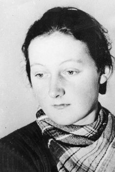 Cato Bontjes van Beek (November 1920 - August - From the fall of… Home Guard, Brave Women, Female Hero, Prisoners Of War, Military Women, Great Leaders, Great Women, Second World, Women In History