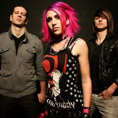 Icon For Hire, only the best punk rock band ever!!! :D