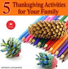 5 activities that bring Thanksgiving to life for your kids.