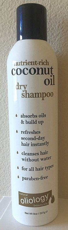 : Oliology Dry Shampoo revives dull and lifeless hair by absorbing excess oil and odor between washes. This virtually translucent spray leaves no white powder or residue leaving hair feeling smooth, fresh and clean. Hair Shampoo, Dry Shampoo, Coconut Oil Hair Treatment, Second Day Hairstyles, Hair Cleanse, Hair Care Tips, Your Hair, Moisturizer, Amazon