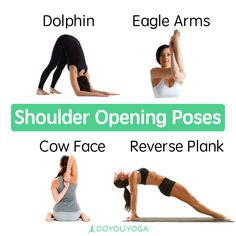 Release your tight #shoulders with these awesome yoga poses 👌