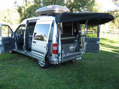 Ford Transit Connect Camper 3