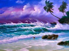 Lavender Sky by Edgardo F Garcia