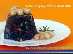 COUSCOUS NERO CON VERDURE E GAMBERETTI: blog.giallozafferano.it/cucinaspagnola/couscous-nero/