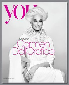 82-Year-Old Supermodel Carmen Dell'Orefice Reminds Everyone That Ageism In Modeling Is Ridiculous