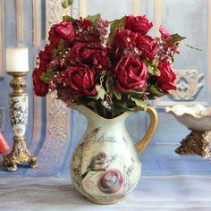 Букет из искусственных роз Купить: http://ali.pub/0x8ie
