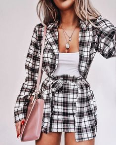 Business Casual Outfits For Rainy Days above Comfy Casual Summer Outfits over Im. - Business Casual Outfits For Rainy Days above Comfy Casual Summer Outfits over Images Of Casual Fall - Mode Outfits, Trendy Outfits, Fall Outfits, Fashion Outfits, Plaid Outfits, Classy Outfits, Chic Outfits, Fashion Clothes, Co Ords Outfits