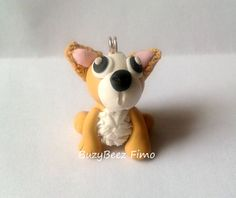 Chihuahua charm by buzybeez1 on Etsy, £1.00